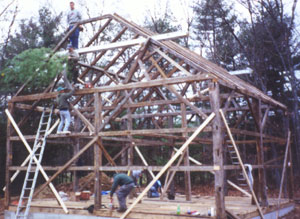 Building the Fisher Barn
