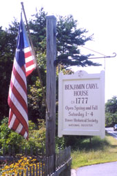 The Caryl House Sign